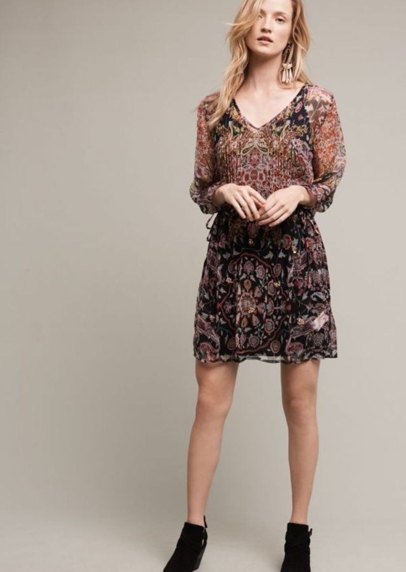 Anthropologie Lily Ruffle Tunic