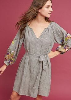 Lindsey Embroidered Tunic Dress