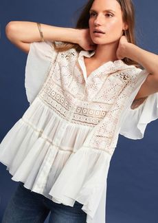 Anthropologie Lindy Popover Blouse