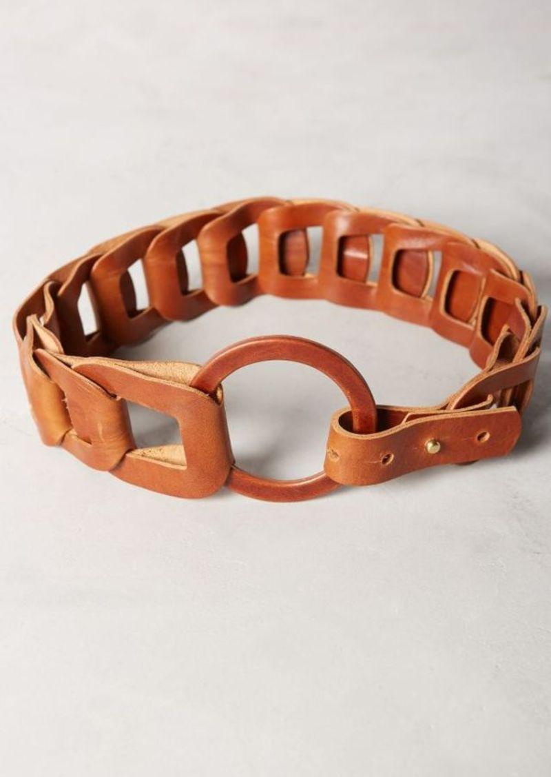 Anthropologie Linked Loop Belt