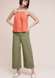 Anthropologie Logan Wide-Leg Crops