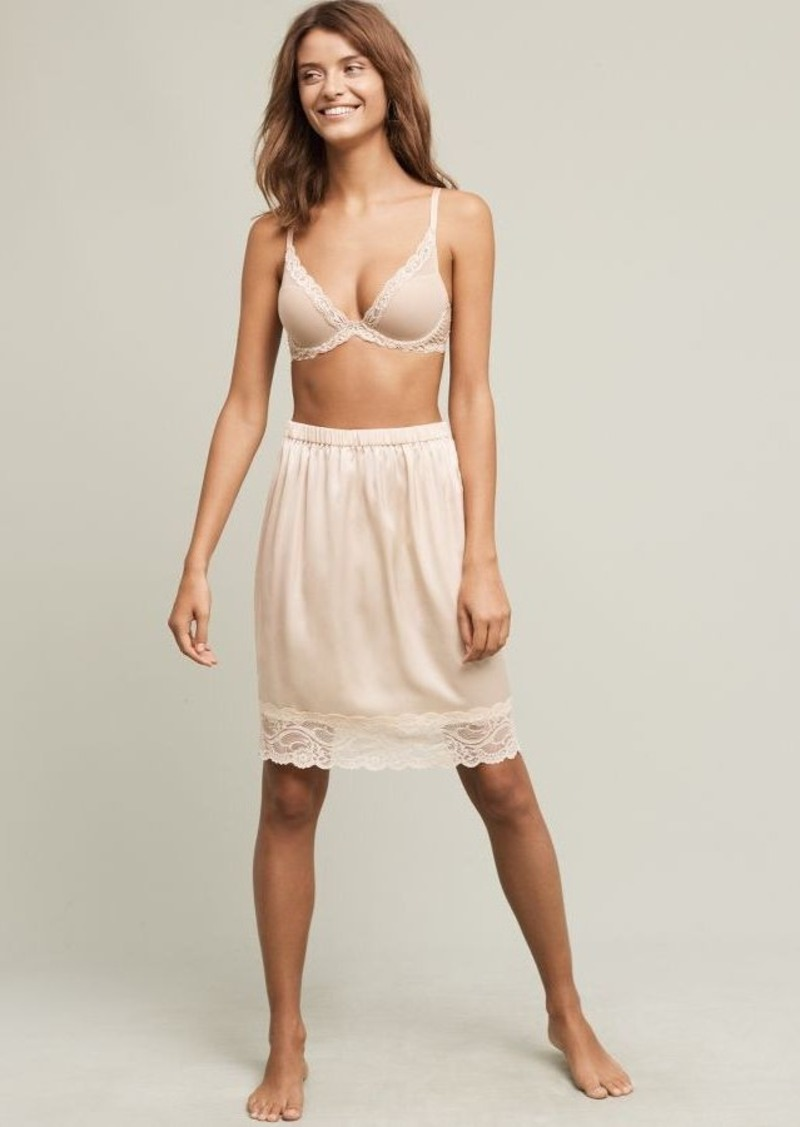 Anthropologie Lucy Lace Slip