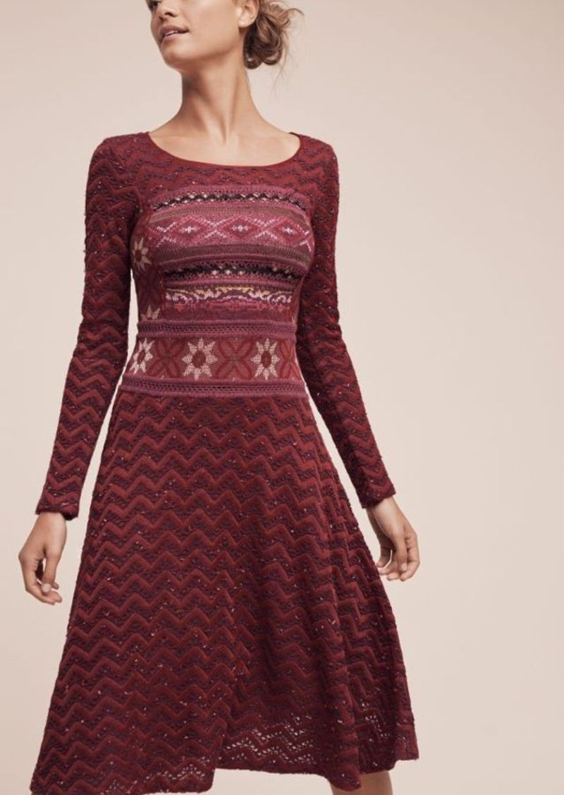 Anthropologie Luiza Sweater Dress