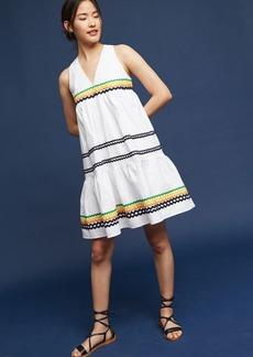 Lunedi Flounced Dress