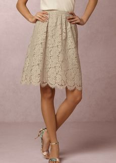 Anthropologie Lydia Lace Skirt