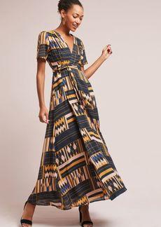 Macie Wrap Maxi Dress