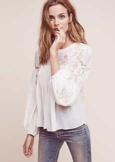 Anthropologie Magdalena Lace Blouse
