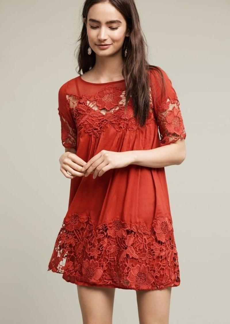 Anthropologie Magnolia Lace Dress