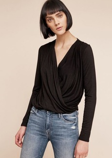 Anthropologie Marceau Wrap Top