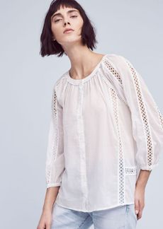 Marceley Lace Peasant Top