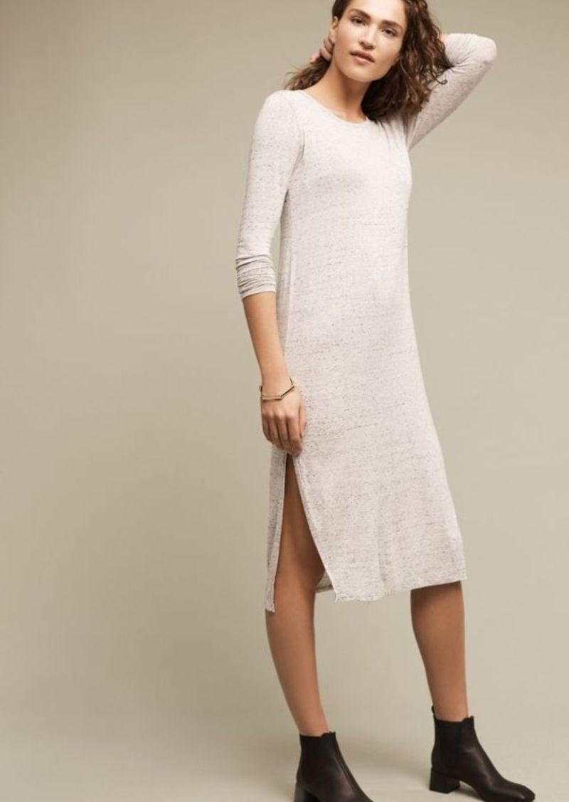 Anthropologie Marled T-Shirt Dress
