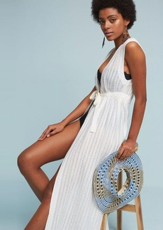 Anthropologie Maxi Cloud Cover-Up