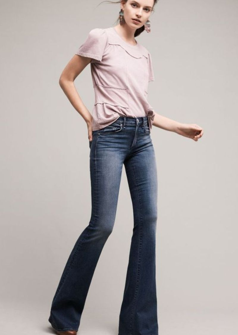 Anthropologie McGuire Majorelle Low-Rise Flare Jeans