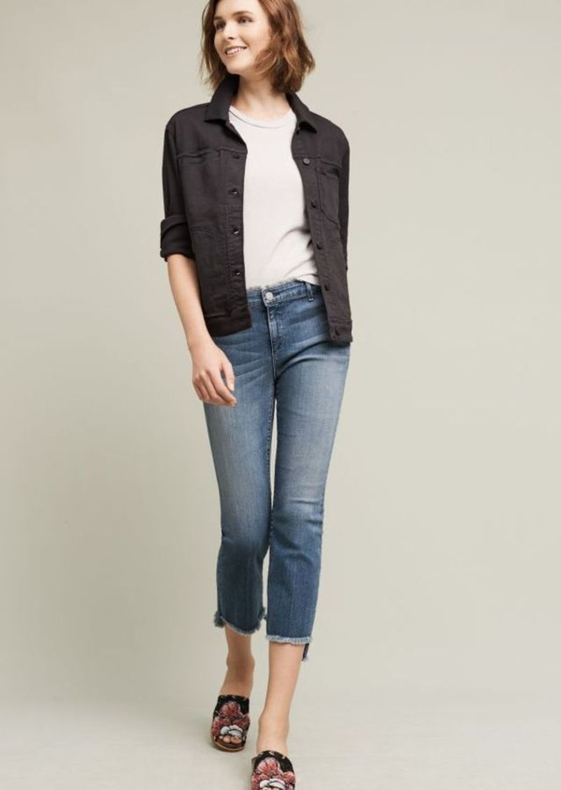 Anthropologie McGuire Malone Mid-Rise Crop Jeans