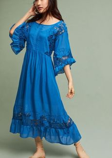 Meadow Flutter-Sleeve Dress