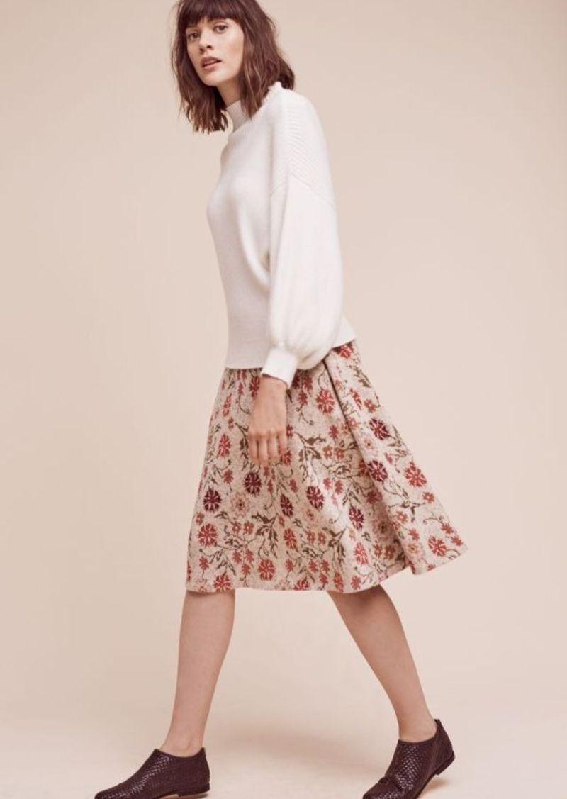 Anthropologie Meadowlark Sweater Skirt