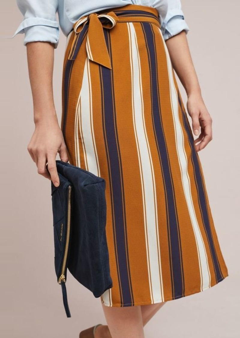 b147ebf28d Anthropologie Melody Striped Wrap Skirt   Skirts