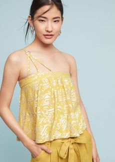 Metallic Sun-Etched Cami