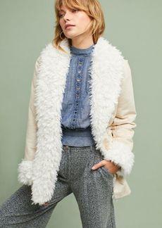 Michael Stars Faux Fur Oversized Coat