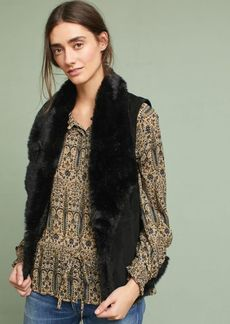 Michael Stars Reversible Faux Fur Vest