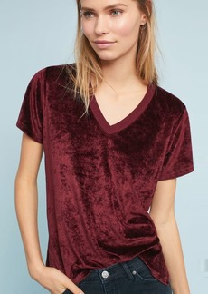 Anthropologie Michael Stars Slouched V-Neck Tee