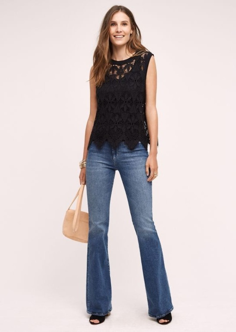 Anthropologie MiH Marrakesh Mid-Rise Flare Jeans