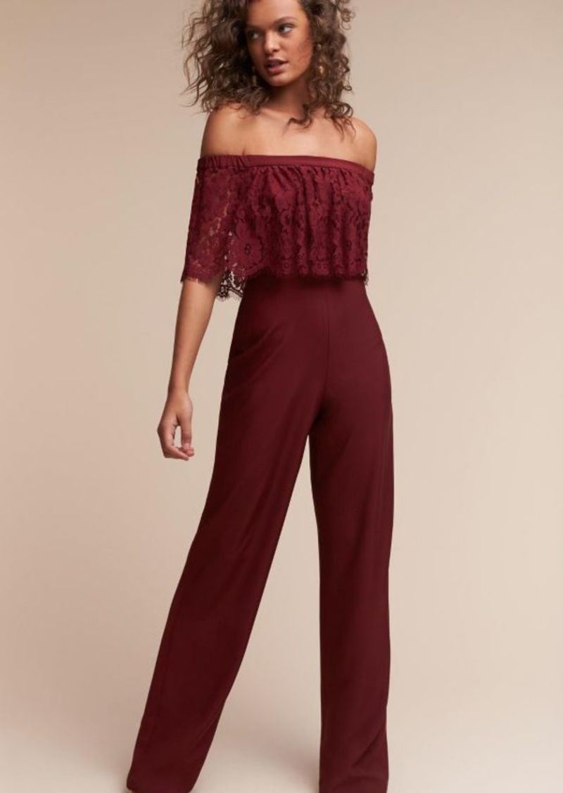 Anthropologie Mila Jumpsuit