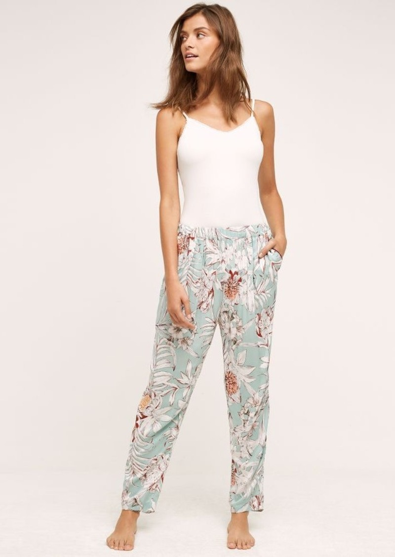 Anthropologie Minted Fleur Sleep Pants