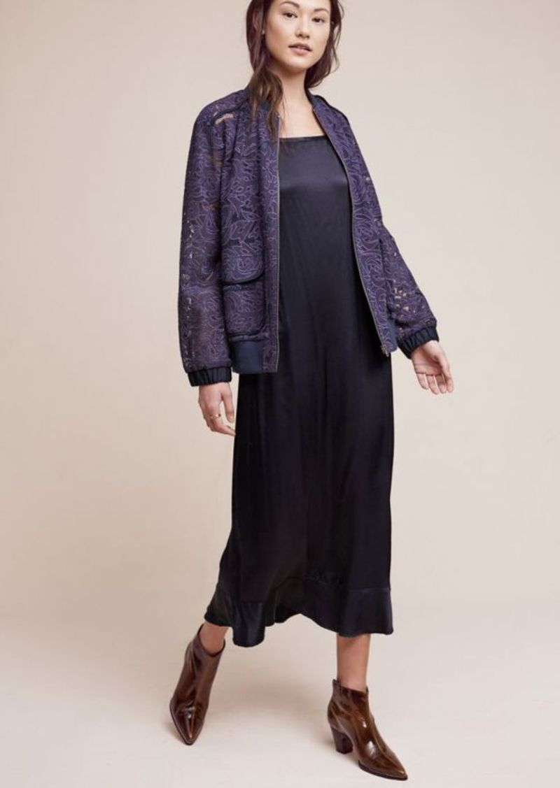 Anthropologie Miranda Lace Bomber