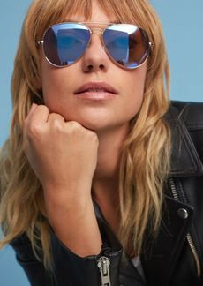 Anthropologie Mirrored Aviators