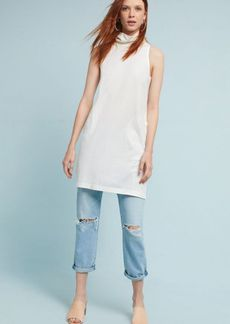 Anthropologie Mock Neck Tunic Dress