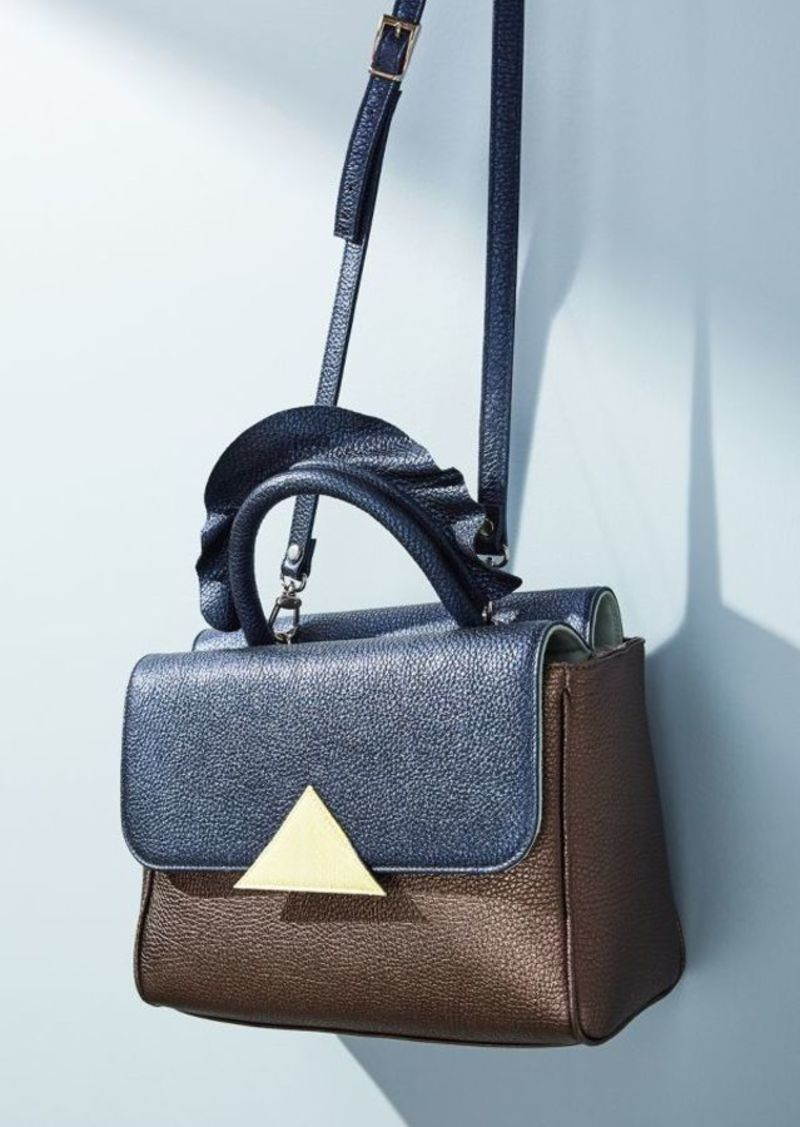 Anthropologie Montaigne Colorblock Handbag
