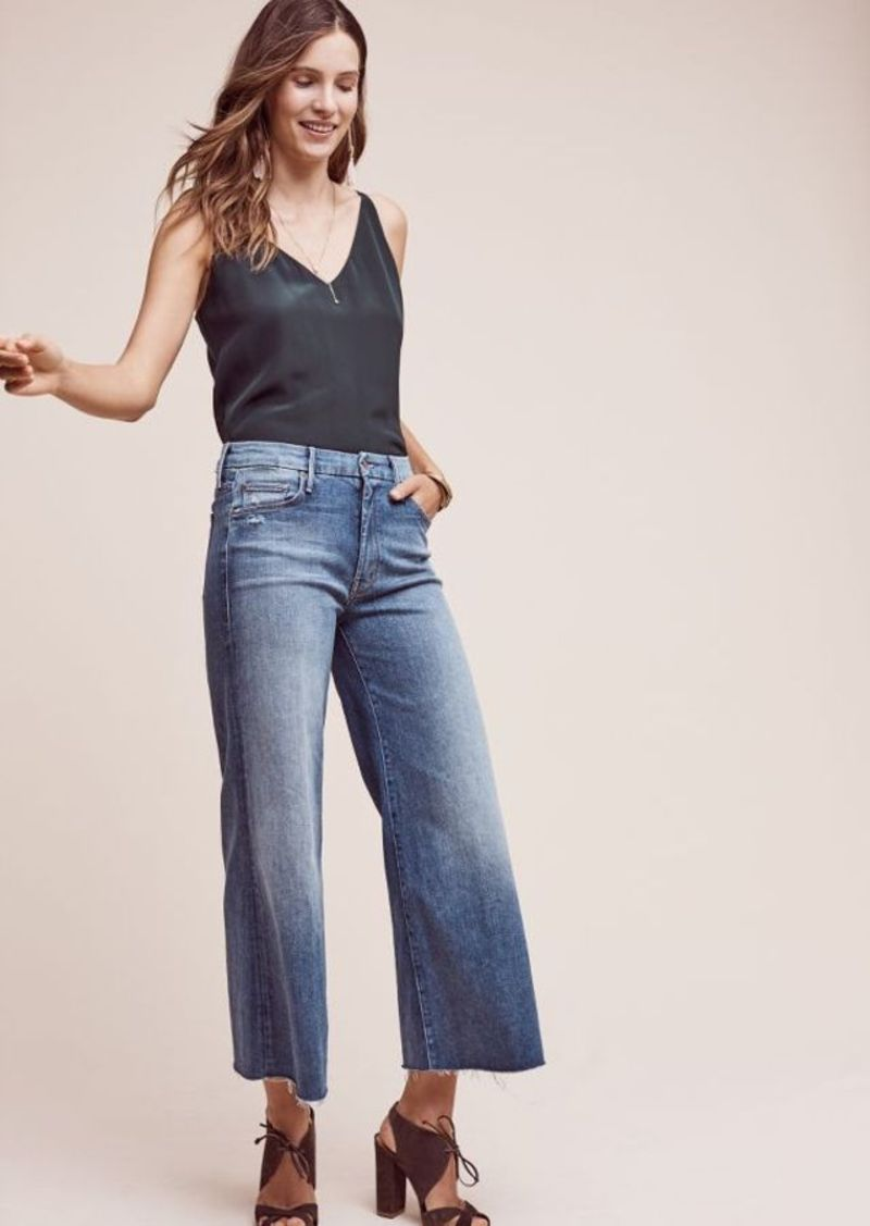 Anthropologie Mother Roller Ultra High-Rise Wide-Leg Jeans