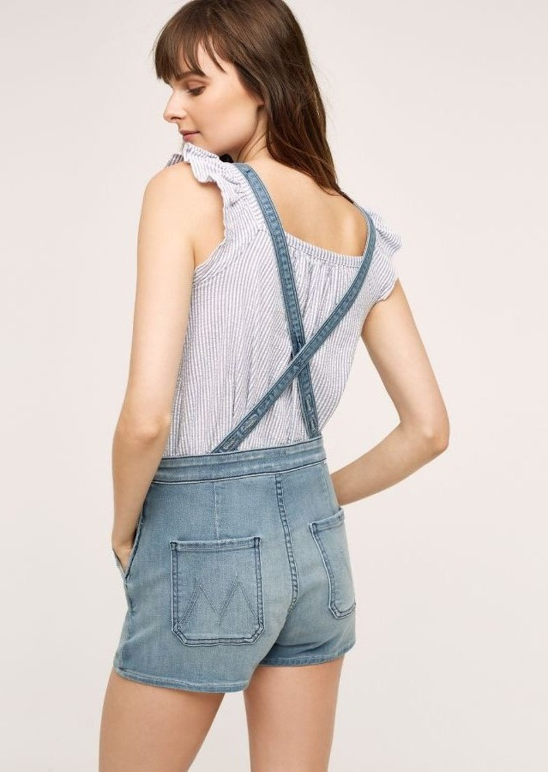 Anthropologie Mother Swooner Overalls