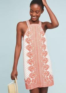 Anthropologie Natalie Embroidered Shift Dress