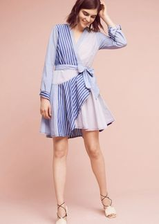 Anthropologie Newport Striped Shirtdress