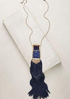 Anthropologie Odeisa Tassel Necklace