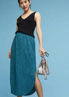 Anthropologie Odelle Textured Skirt