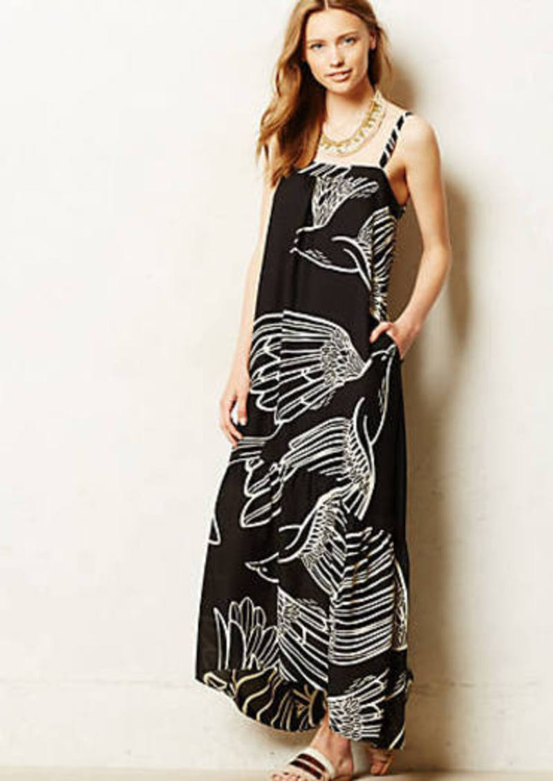 Anthropologie oiseau maxi dress dresses shop it to me for Anthropologie mural maxi dress