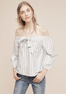 Anthropologie Orley Off-The-Shoulder Blouse