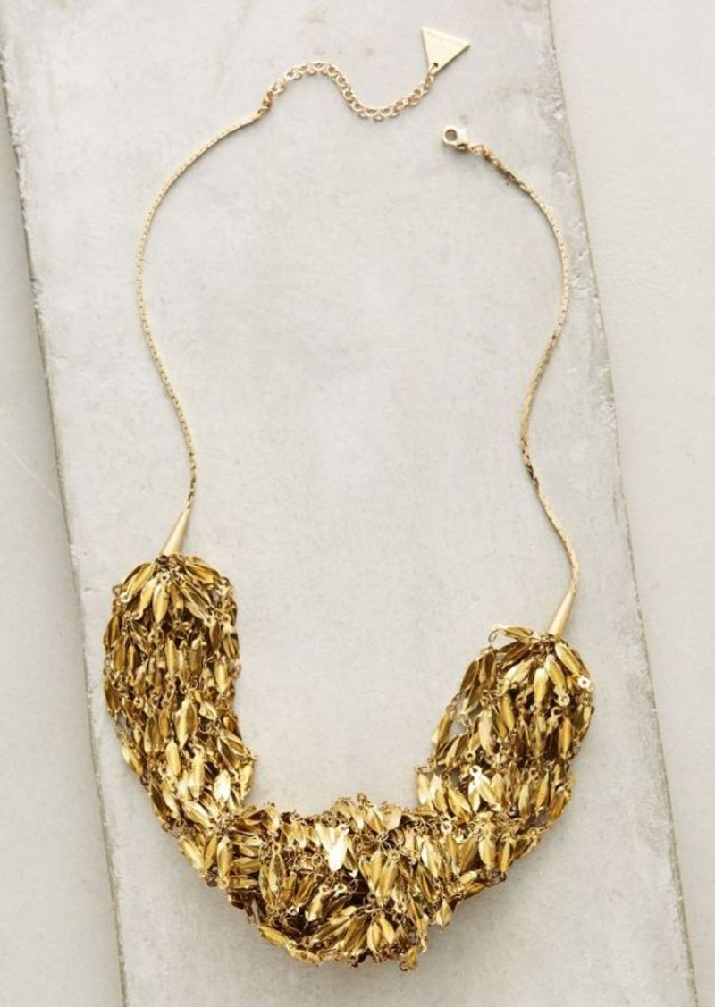 Anthropologie Oro Bib Necklace