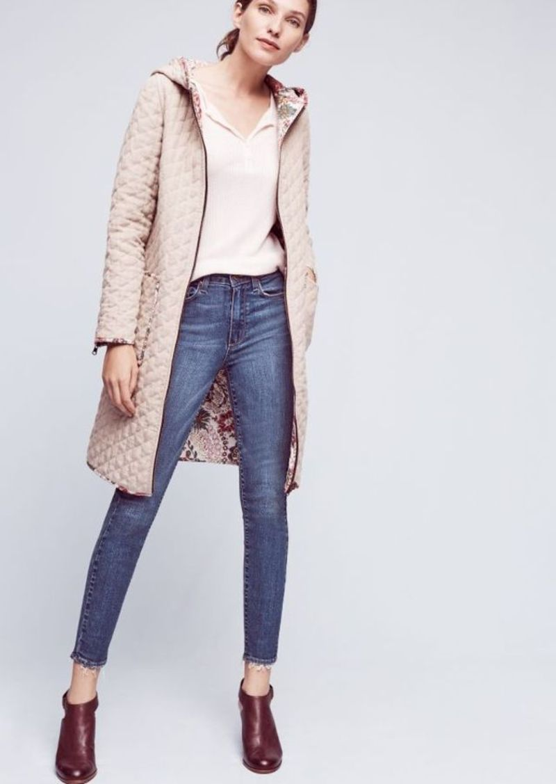 Anthropologie Paige Hoxton High-Rise Ankle Jeans