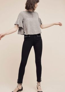 Paige Hunter High-Rise Skinny Ankle Jeans