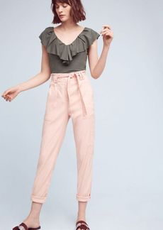 Anthropologie Paperbag-Waisted Joggers
