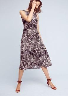 Anthropologie Patchwork Midi Dress