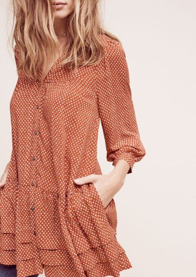 Anthropologie Pavin Buttondown Tunic