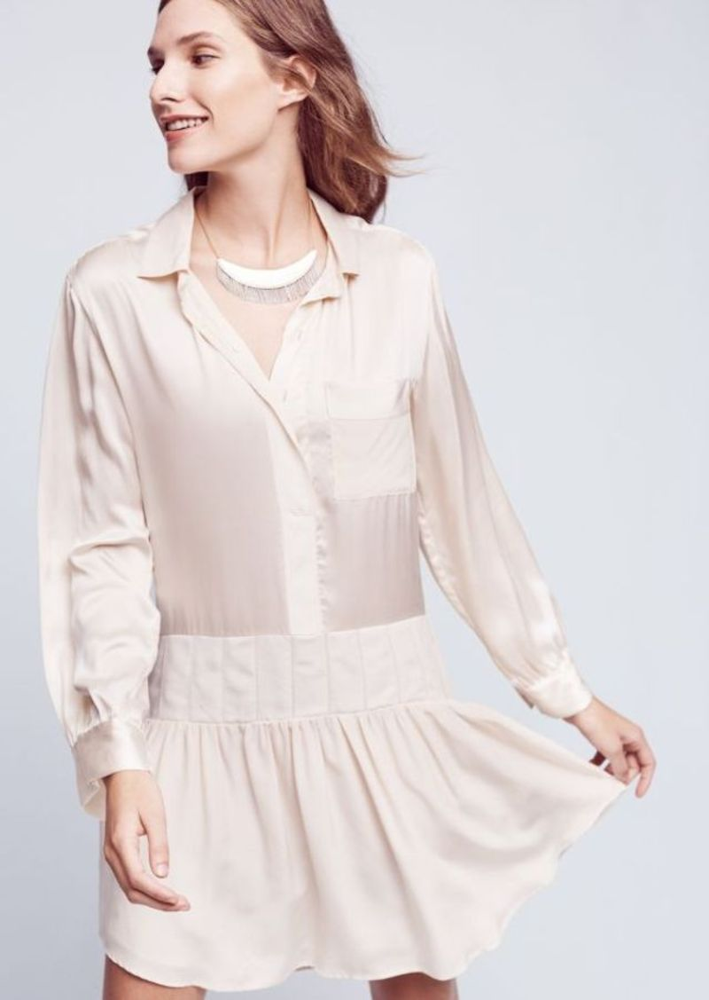 Anthropologie Pearl Silk Dress