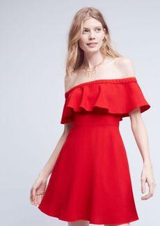Anthropologie Penelope Off-The-Shoulder Dress