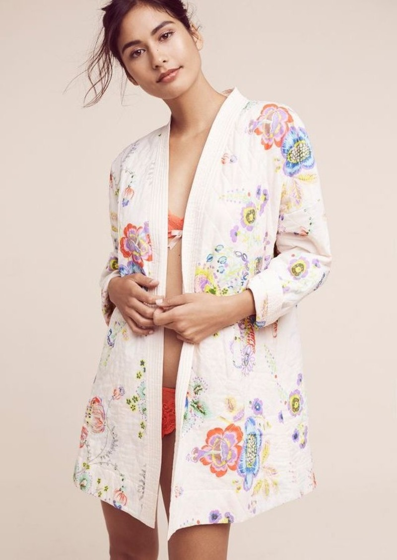 Anthropologie Petulia Quilted Robe | Intimates - Shop It To Me : quilted robe - Adamdwight.com