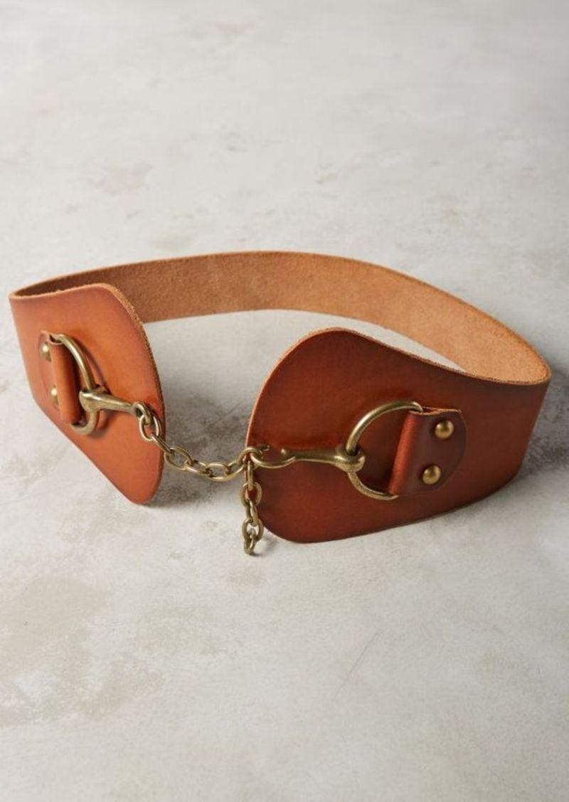 Anthropologie Piedmont Chain Waist Belt